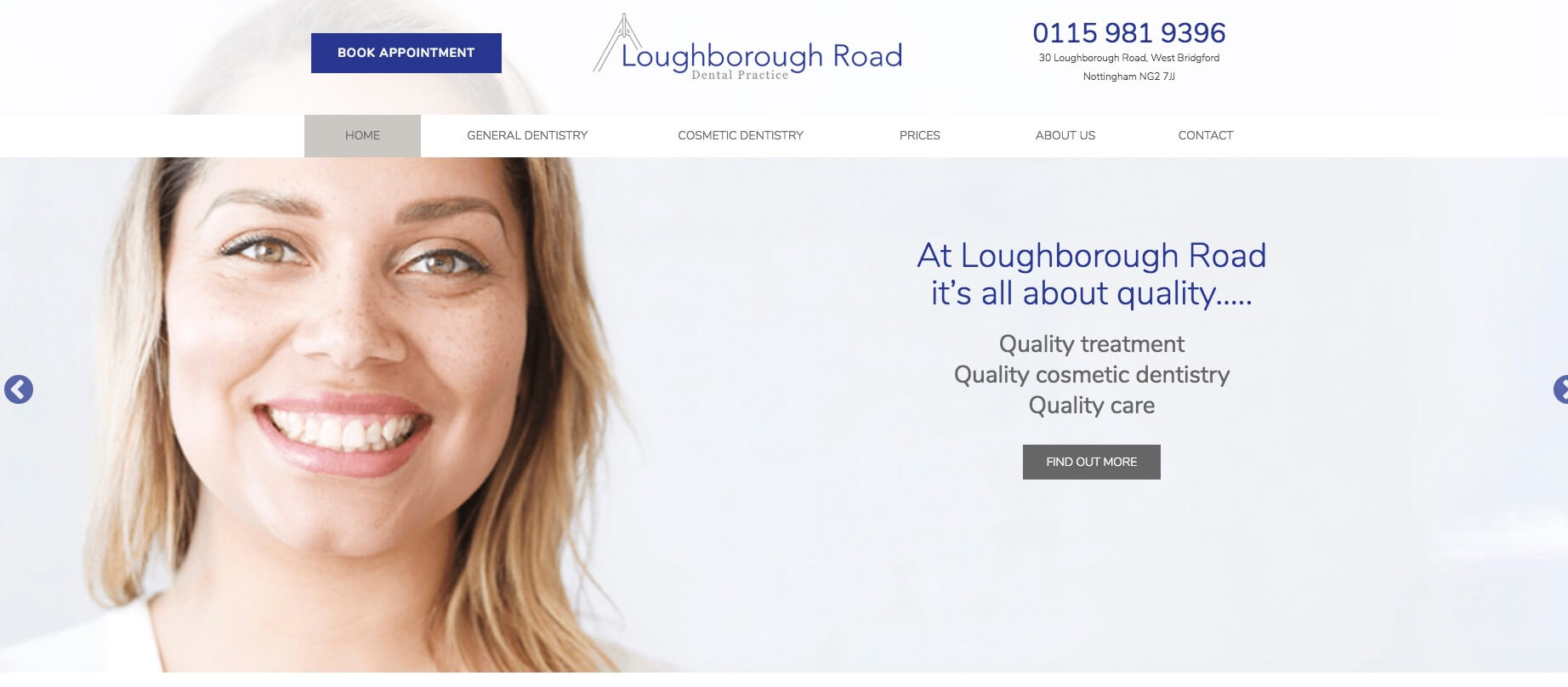 Loughborough Road Dentist | West Bridgford